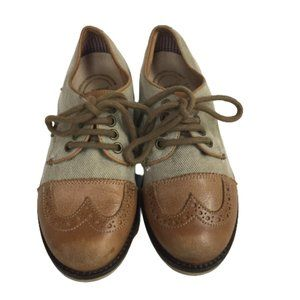 Vera Pelle Italian Boys Brown Size 31 Shoes